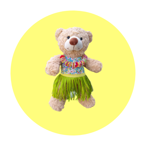16 Inch Beach Wear Teddy Clothes