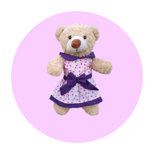8 Inch Dresses Teddy Clothes
