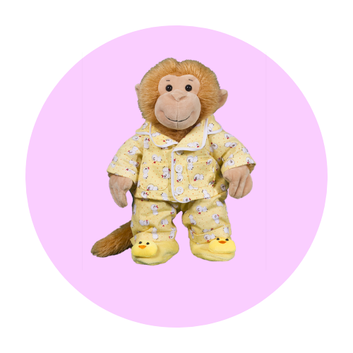 8 Inch Night Wear Teddy Clothes