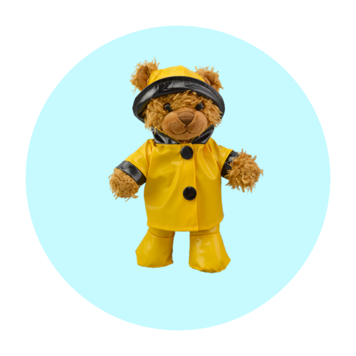 8 Inch Outdoor Teddy Bear Clothes
