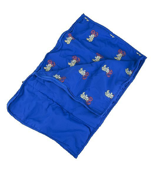 Blue Teddy Sleeping Bag