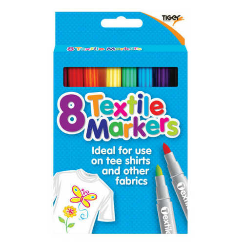 Fabric Pens pack of 8