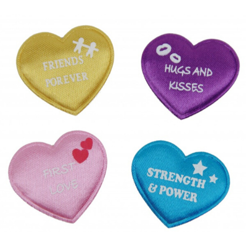 Pack of 10 wishing hearts