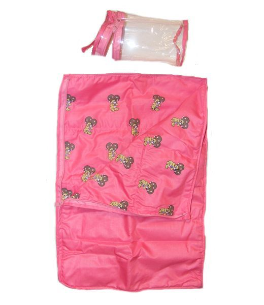 Pink Teddy Sleeping Bag